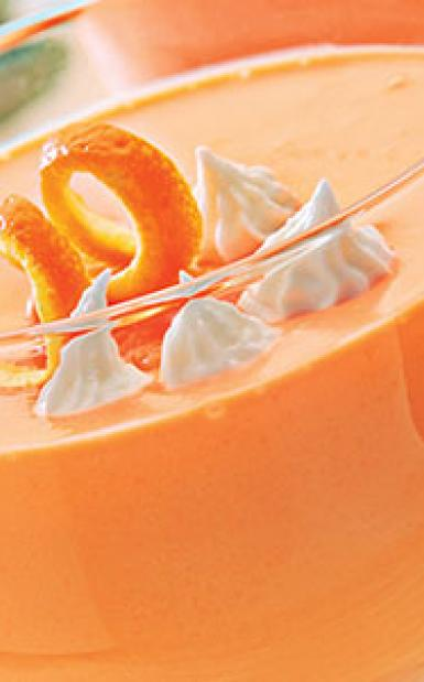 Orange Delight Pudding Recipe