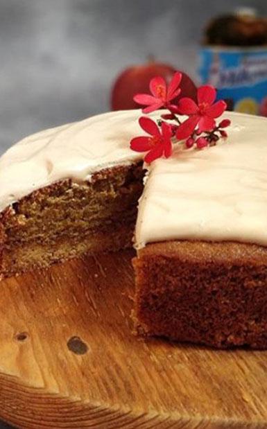 Wheat Flour Apple Cake