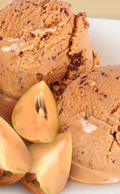Chickoo Ice Cream